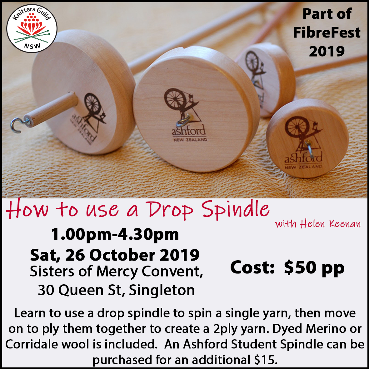 DropSpindle workshop